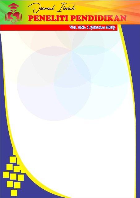 View Vol. 1 No. 1 (2019): Jurnal Imliah PENELITI PENDIDIKAN