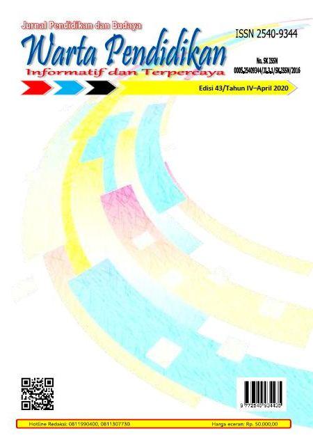 View Vol. 4 No. 7 (2020): Warta Pendidikan
