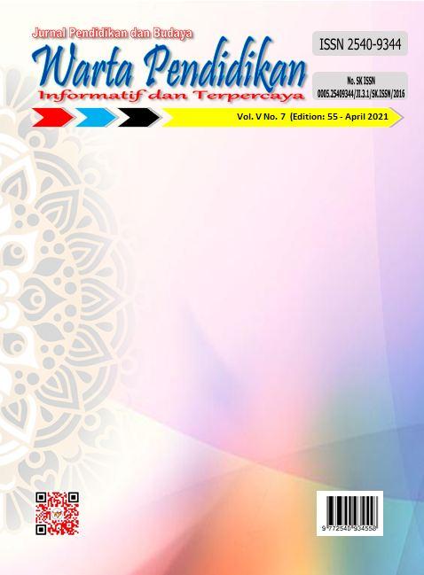View Vol. 5 No. 7 (2021): Warta Pendidikan